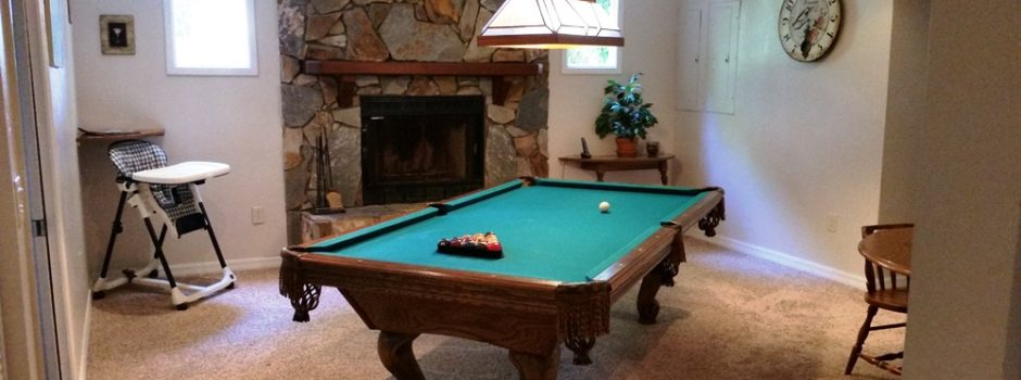 Man Pool Table
